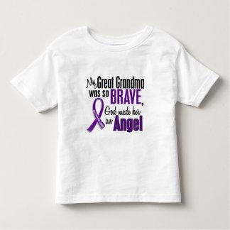 My Great Grandma Is An Angel Pancreatic Cancer Toddler T-shirt