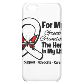 My Great-Grandma - Lung Cancer Awareness Cover For iPhone 5C