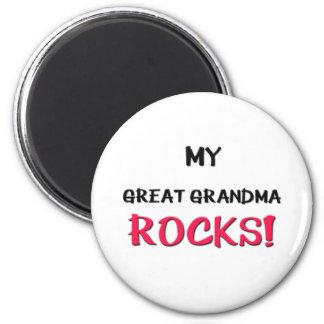 My Great Grandma Rocks Magnet