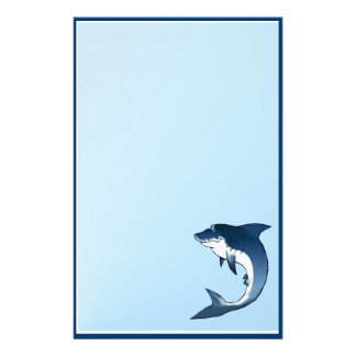 """My Great White-5.5"""" x 8.5"""" - Vertical Stationery"""