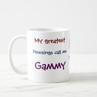 My Greatest Blessings Call Me Gammy Coffee Mug