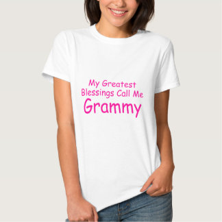 My Greatest Blessings Call Me Grammy Shirts