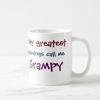 My Greatest Blessings Call Me Grampy Coffee Mug
