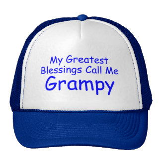 My Greatest Blessings Call Me Grampy Trucker Hat
