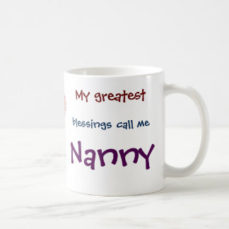 My Greatest Blessings Call Me Nanny Coffee Mug
