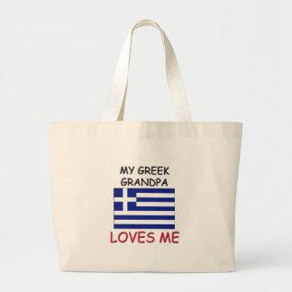 My Greek Grandpa Loves Me Tote Bag