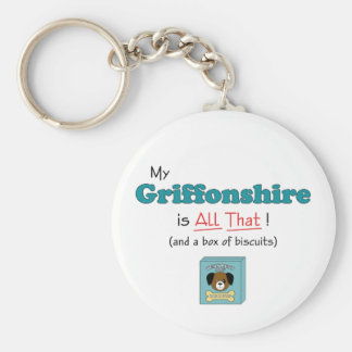 My Griffonshire is All That! Key Chains