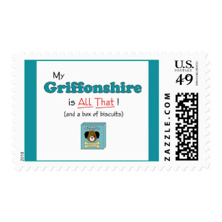 My Griffonshire is All That! Postage Stamps