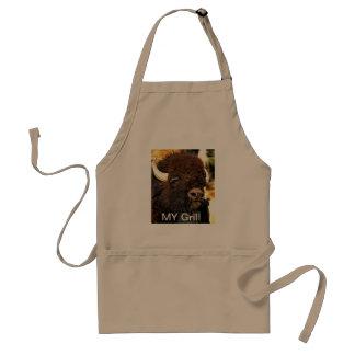 My Grill Buffalo apron