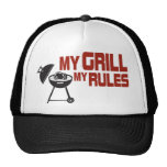 My Grill My Rules Trucker Hat