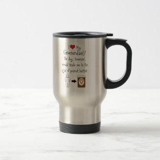 My Groenendael Loves Peanut Butter Coffee Mugs