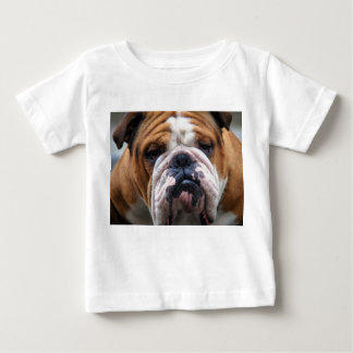 My Grumpy Dog is Saying Bulldog !!! Baby T-Shirt