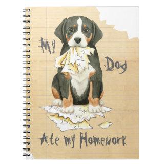 My GSMD Ate My Homework Spiral Notebook
