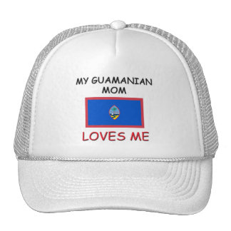My Guamanian Mom Loves Me Mesh Hat