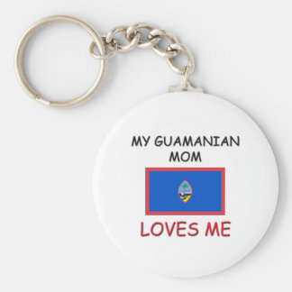 My Guamanian Mom Loves Me Keychains
