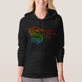 My Guard Dog is a Dragon Hooded Pullover