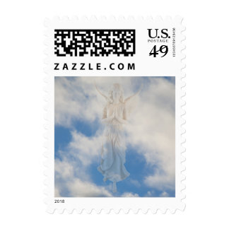 My guardian angel in the blue sky by healing love postage