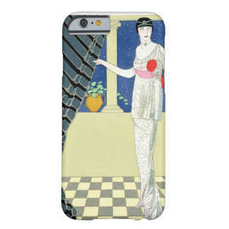 My Guests have not Arrived, illustration of a woma Barely There iPhone 6 Case