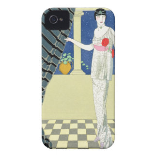 My Guests have not Arrived, illustration of a woma iPhone 4 Cases