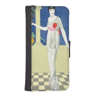My Guests have not Arrived, illustration of a woma iPhone SE/5/5s Wallet