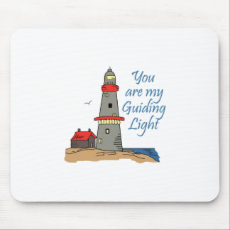 MY GUIDING LIGHT MOUSE PAD