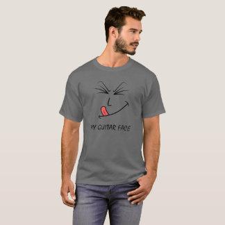 My Guitar Face Music T-Shirt