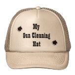 My gun cleaning hat!