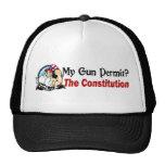 My Gun Permit? The Constitution! Trucker Hat