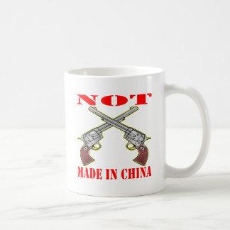 My Guns Are NOT Made In China Classic White Coffee Mug