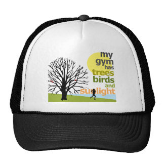 My Gym Has Trees Mesh Hats