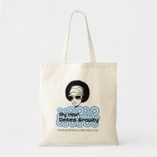 My Hair Defies Gravity Tote Bag