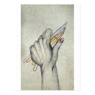 MY HAND POSTCARD