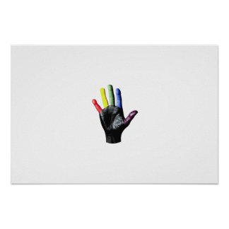 My Hand Print Print (Large)..!