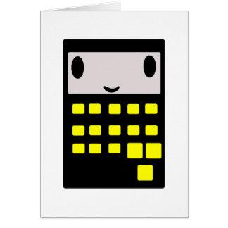 My Happy Calculator Card