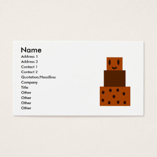 My Happy Chocolate Cake Business Card