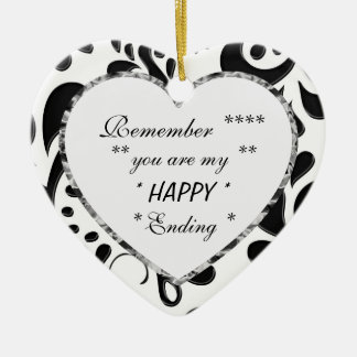 My Happy Ending Gift Heart Ornament