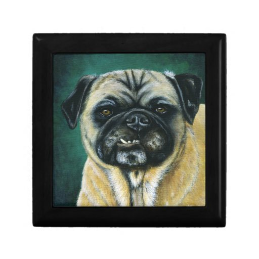 My Happy Face - Pug Dog Art Gift Boxes