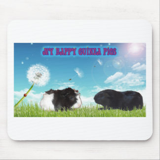 My Happy Guinea Pigs Mouse Pad