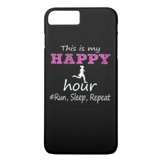My Happy Hour! Run, Sleep, Repeat... iPhone 7 Plus Case