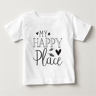 my happy place baby T-Shirt