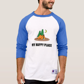 My Happy Place Camping Tent T-Shirt