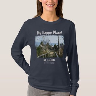 My Happy Place! Mt. LeConte in Great Smoky Mtns T-shirts