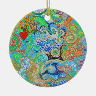 My Happy Place Ornament by baird duschatko