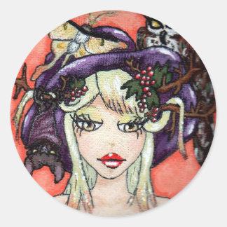 """My Hat Is Fabulous, Too!"" Sticker"