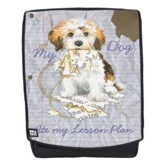 My Havanese Ate my Lesson Plan Backpack