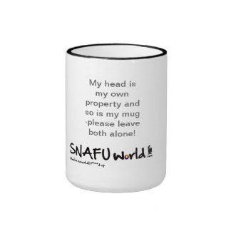 My head and my mug are my property