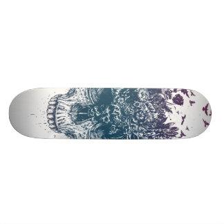 My head is a jungle skateboard deck