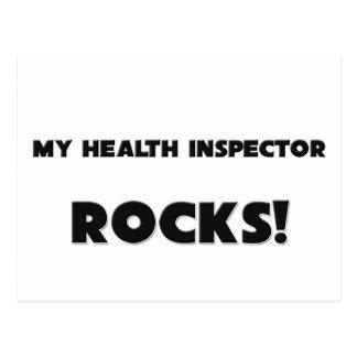 MY Health Inspector ROCKS! Post Card