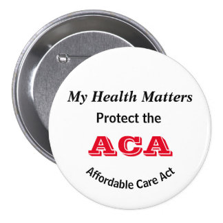My Health Matters Protect the ACA Button