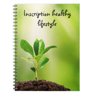 my healthy lifestyle notebook